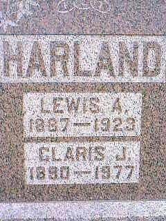HARLAND, CLARIS J. - Taylor County, Iowa | CLARIS J. HARLAND
