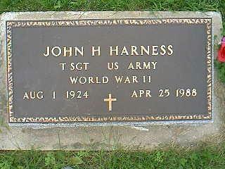HARNESS, JOHN H. - Taylor County, Iowa | JOHN H. HARNESS