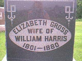 HARRIS, ELIZABETH - Taylor County, Iowa   ELIZABETH HARRIS
