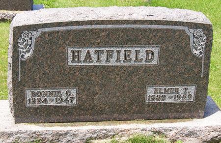 SCANE HATFIELD, BONNIE C - Taylor County, Iowa   BONNIE C SCANE HATFIELD