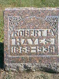 HAYES, ROBERT M. - Taylor County, Iowa | ROBERT M. HAYES