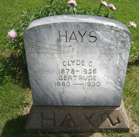 MAYER HAYS, GERTRUDE - Taylor County, Iowa | GERTRUDE MAYER HAYS