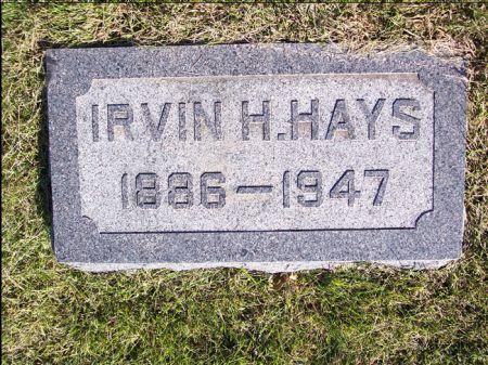 HAYS, IRVIN H. - Taylor County, Iowa | IRVIN H. HAYS