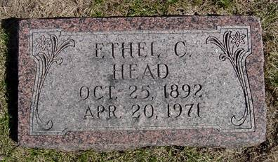 HEAD, ETHEL C. - Taylor County, Iowa | ETHEL C. HEAD