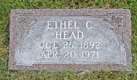 SCRIVNER HEAD, ETHEL CLARE - Taylor County, Iowa | ETHEL CLARE SCRIVNER HEAD