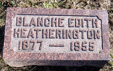 HEATHERINGTON, BLANCHE EDITH - Taylor County, Iowa | BLANCHE EDITH HEATHERINGTON