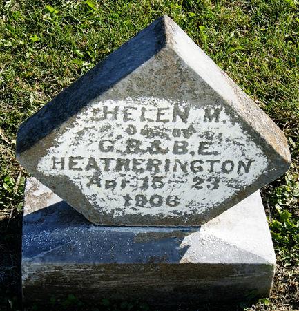 HEATHERINGTON, HELEN MAY - Taylor County, Iowa   HELEN MAY HEATHERINGTON