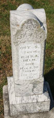 HELM, GUY S. - Taylor County, Iowa   GUY S. HELM