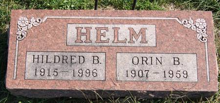 SOMA HELM, HILDRED BERENE - Taylor County, Iowa | HILDRED BERENE SOMA HELM