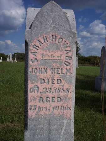 HOWARD HELM, SARAH - Taylor County, Iowa | SARAH HOWARD HELM
