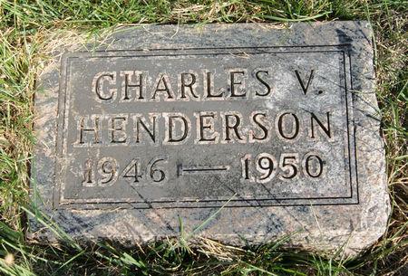 HENDERSON, CHARLES VERNON - Taylor County, Iowa | CHARLES VERNON HENDERSON