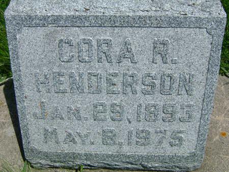 HENDERSON, CORA R - Taylor County, Iowa   CORA R HENDERSON