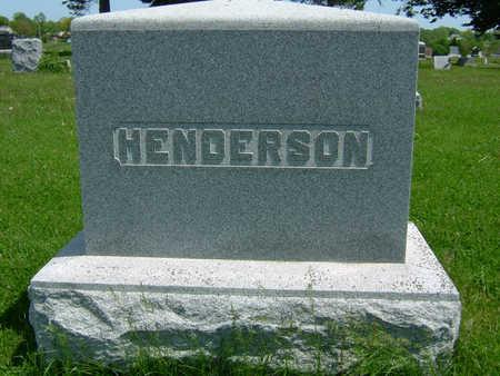 HENDERSON, FAMILY STONE - Taylor County, Iowa | FAMILY STONE HENDERSON