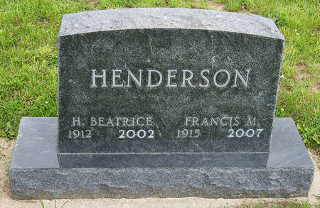 HULL HENDERSON, HELEN BEATRICE - Taylor County, Iowa | HELEN BEATRICE HULL HENDERSON