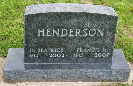 HENDERSON, FRANCIS MARION - Taylor County, Iowa | FRANCIS MARION HENDERSON