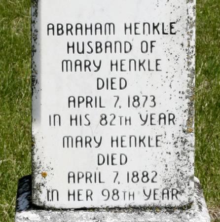 HARPER HENKLE, MARY ELIZABETH - Taylor County, Iowa   MARY ELIZABETH HARPER HENKLE