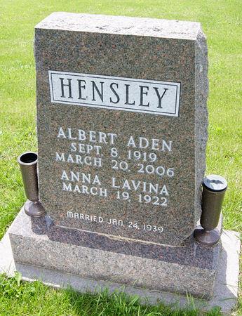 HENSLEY, ALBERT ADEN - Taylor County, Iowa | ALBERT ADEN HENSLEY