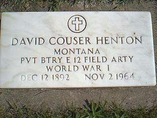HENTON, DAVID - Taylor County, Iowa   DAVID HENTON