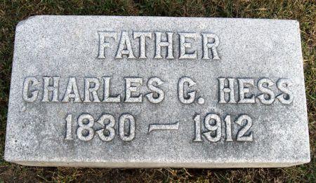 HESS, CHARLES CONRAD - Taylor County, Iowa   CHARLES CONRAD HESS