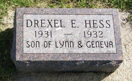 HESS, DREXEL EUGENE - Taylor County, Iowa | DREXEL EUGENE HESS
