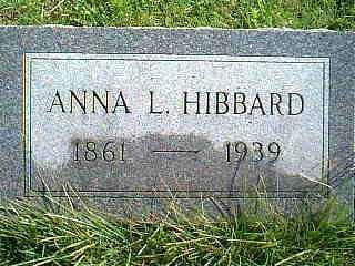HIBBARD, ANNA - Taylor County, Iowa | ANNA HIBBARD