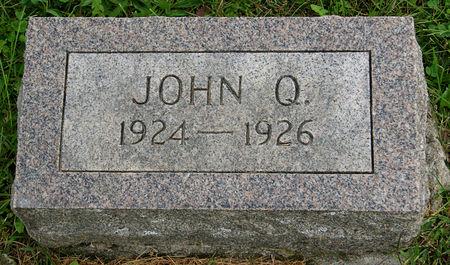 HICKMAN, JOHN QUINCY - Taylor County, Iowa | JOHN QUINCY HICKMAN