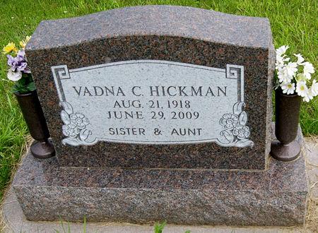 HICKMAN, VADNA CHARLOTTE - Taylor County, Iowa | VADNA CHARLOTTE HICKMAN
