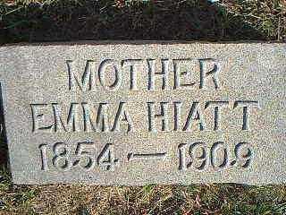 HIATT HICKS, EMMA - Taylor County, Iowa | EMMA HIATT HICKS