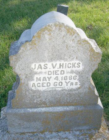 HICKS, JAMES V. - Taylor County, Iowa | JAMES V. HICKS