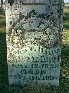 HILLIS, MARY ANN - Taylor County, Iowa | MARY ANN HILLIS