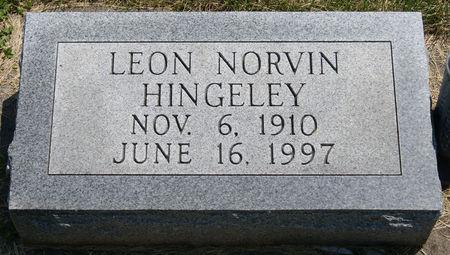 HINGELEY, LEON NORVIN - Taylor County, Iowa | LEON NORVIN HINGELEY