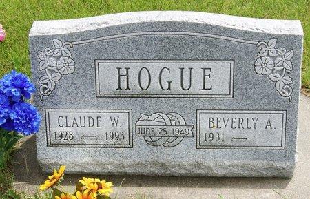 HOGUE, CLAUDE WESLEY - Taylor County, Iowa   CLAUDE WESLEY HOGUE