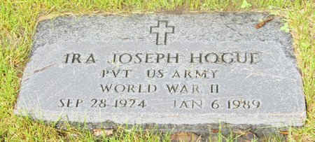 HOGUE, IRA JOSEPH
