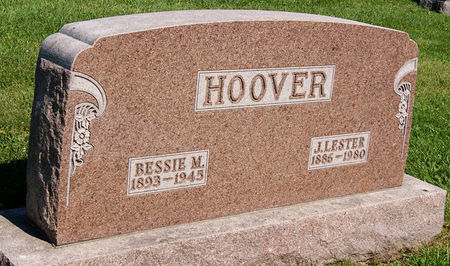 LEPLEY HOOVER, BESSIE MAY - Taylor County, Iowa | BESSIE MAY LEPLEY HOOVER