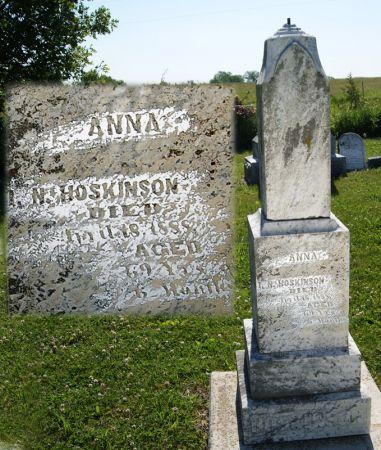 HOSKINSON, ANNA - Taylor County, Iowa   ANNA HOSKINSON