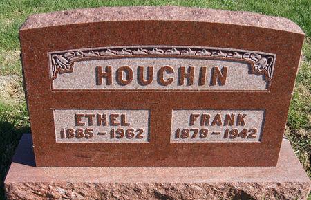 MEREDITH HOUCHIN, FRANCENA ETHEL - Taylor County, Iowa | FRANCENA ETHEL MEREDITH HOUCHIN
