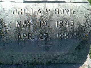 HOWE, ORILLA P. - Taylor County, Iowa | ORILLA P. HOWE