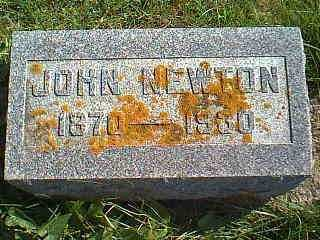 HUGHES, JOHN NEWTON - Taylor County, Iowa | JOHN NEWTON HUGHES