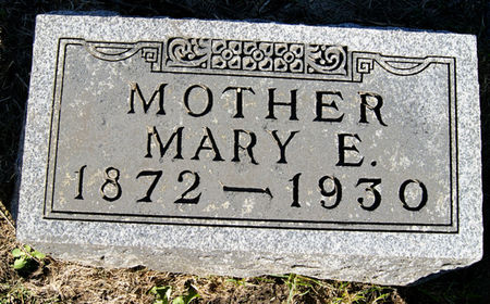 BRUNER HUGHES, MARY ELIZABETH