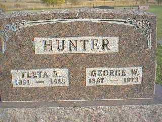 HUNTER, FLETA R. - Taylor County, Iowa | FLETA R. HUNTER