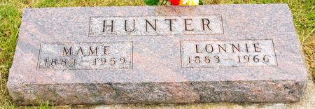 CHRISTY HUNTER, MAME GRACE - Taylor County, Iowa | MAME GRACE CHRISTY HUNTER