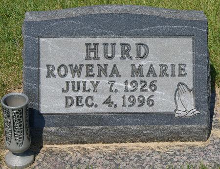 BROKAW HURD, ROWENA MARIE - Taylor County, Iowa   ROWENA MARIE BROKAW HURD
