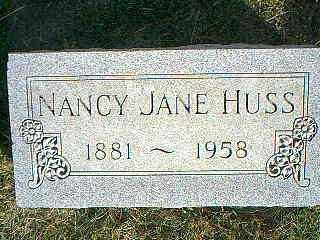 HUSS, NANCY JANE - Taylor County, Iowa | NANCY JANE HUSS