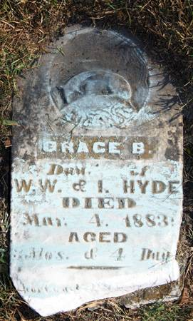 HYDE, GRACE B. - Taylor County, Iowa   GRACE B. HYDE