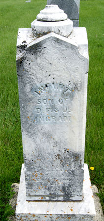 INGRAM, DANIEL POLK, INFANT SON OF - Taylor County, Iowa | DANIEL POLK, INFANT SON OF INGRAM