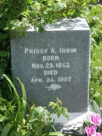 IRVIN, PRISCILLA ANN