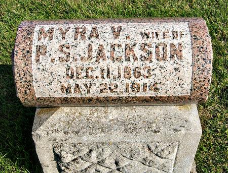VINCENT JACKSON, MYRA - Taylor County, Iowa   MYRA VINCENT JACKSON