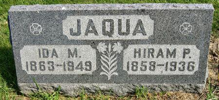 YOUNG JAQUA, IDA MAY - Taylor County, Iowa   IDA MAY YOUNG JAQUA