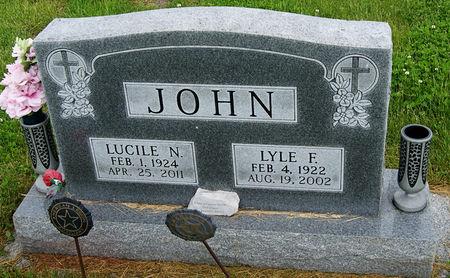 JOHN, LYLE FRANCIS - Taylor County, Iowa   LYLE FRANCIS JOHN
