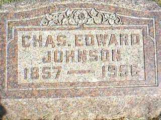 JOHNSON, CHAS EDWARD - Taylor County, Iowa | CHAS EDWARD JOHNSON